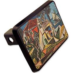 "Mediterranean Landscape by Pablo Picasso Rectangular Trailer Hitch Cover - 2"""