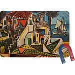 Mediterranean Landscape by Pablo Picasso Rectangular Fridge Magnet