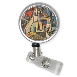 Mediterranean Landscape by Pablo Picasso Retractable Badge Reel