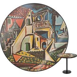 Mediterranean Landscape by Pablo Picasso Round Table