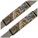 Mediterranean Landscape by Pablo Picasso Seat Belt Covers (Set of 2)