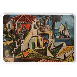 Mediterranean Landscape by Pablo Picasso Serving Tray