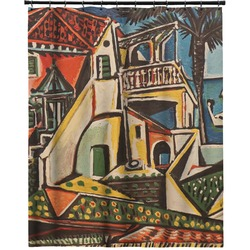 """Mediterranean Landscape by Pablo Picasso Extra Long Shower Curtain - 70""""x84"""""""