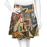 Mediterranean Landscape by Pablo Picasso Skater Skirt