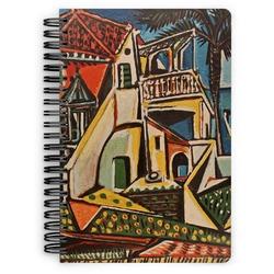 Mediterranean Landscape by Pablo Picasso Spiral Bound Notebook