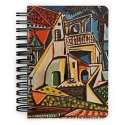 Mediterranean Landscape by Pablo Picasso Spiral Bound Notebook - 5x7