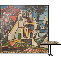 Mediterranean Landscape by Pablo Picasso Square Table Top