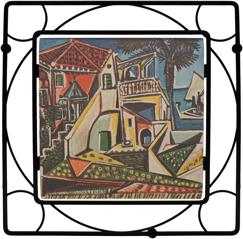 Mediterranean Landscape By Pablo Picasso Square Trivet