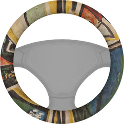 Mediterranean Landscape by Pablo Picasso Steering Wheel Cover