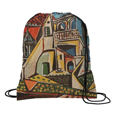 Mediterranean Landscape by Pablo Picasso Drawstring Backpack