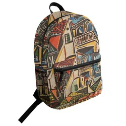 Mediterranean Landscape by Pablo Picasso Student Backpack