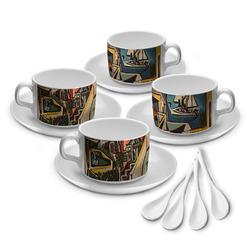 Mediterranean Landscape by Pablo Picasso Tea Cup - Set of 4