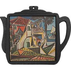 Mediterranean Landscape by Pablo Picasso Teapot Trivet