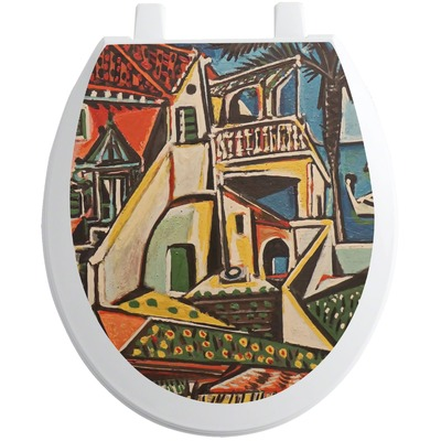 Mediterranean Landscape by Pablo Picasso Toilet Seat Decal