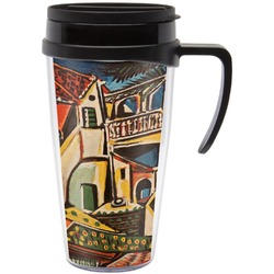 Mediterranean Landscape by Pablo Picasso Travel Mug with Handle