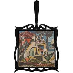 Mediterranean Landscape by Pablo Picasso Trivet with Handle