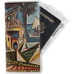 Mediterranean Landscape by Pablo Picasso Travel Document Holder