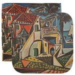 Mediterranean Landscape by Pablo Picasso Facecloth / Wash Cloth