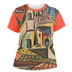 Mediterranean Landscape by Pablo Picasso Women's Crew T-Shirt