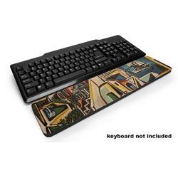 Mediterranean Landscape by Pablo Picasso Keyboard Wrist Rest
