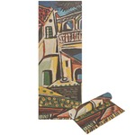 Mediterranean Landscape by Pablo Picasso Yoga Mat - Printable Front and Back