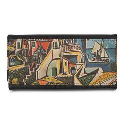 Mediterranean Landscape by Pablo Picasso Leatherette Ladies Wallet