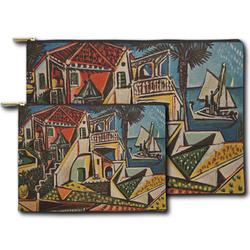 Mediterranean Landscape by Pablo Picasso Zipper Pouch