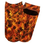Fire Adult Ankle Socks (Personalized)