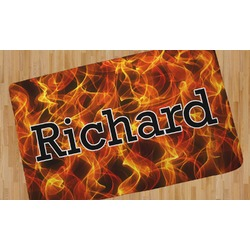 Fire Area Rug (Personalized)