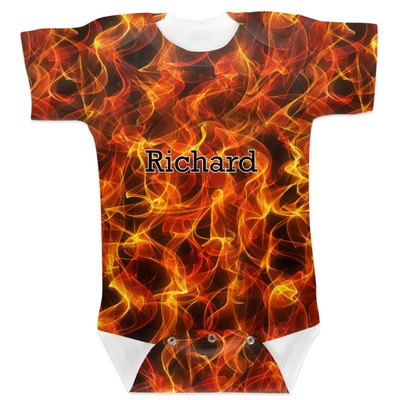 Fire Baby Bodysuit 6-12 (Personalized)