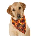 Fire Dog Bandana Scarf w/ Name or Text