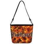 Fire Bucket Bag w/ Genuine Leather Trim (Personalized)
