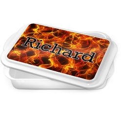Fire Cake Pan (Personalized)