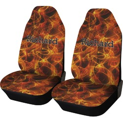 Fire Car Seat Covers (Set of Two) (Personalized)