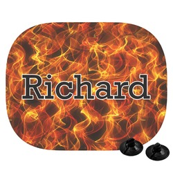 Fire Car Side Window Sun Shade (Personalized)