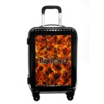 Fire Carry On Hard Shell Suitcase (Personalized)