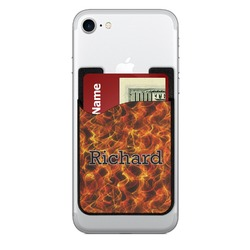Fire Cell Phone Credit Card Holder (Personalized)