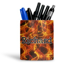 Fire Ceramic Pen Holder