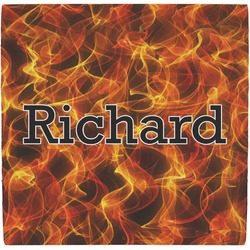 Fire Ceramic Tile Hot Pad (Personalized)