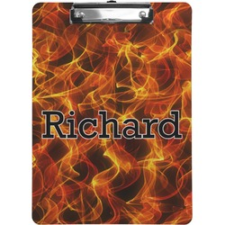 Fire Clipboard (Personalized)