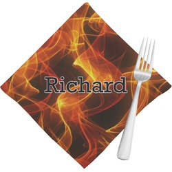 Fire Napkins (Set of 4) (Personalized)
