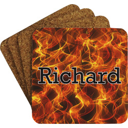 Fire Coaster Set (Personalized)