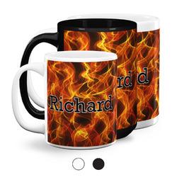 Fire Coffee Mugs (Personalized)