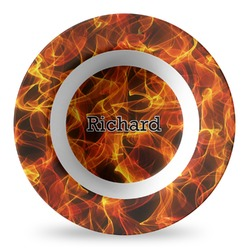 Fire Plastic Bowl - Microwave Safe - Composite Polymer (Personalized)