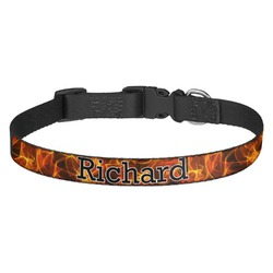 Fire Dog Collar - Multiple Sizes (Personalized)