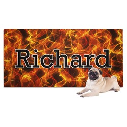 Fire Dog Towel (Personalized)