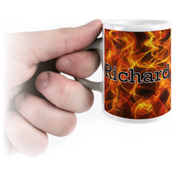 Fire Espresso Mug - 3 oz (Personalized)