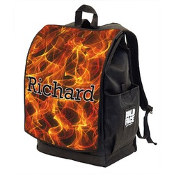 Fire Backpack w/ Front Flap  (Personalized)