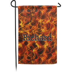 Fire Garden Flag - Single or Double Sided (Personalized)