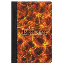 Fire Genuine Leather Passport Cover (Personalized)